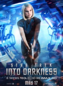 Star Trek Into Darkness (Alice Eve Poster)