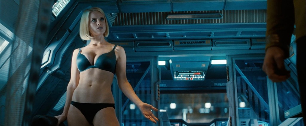 Carol Marcus (Alice Eve) - Underwear - Star Trek Into Darkness