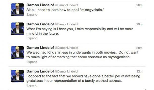 Lindelof Tweets