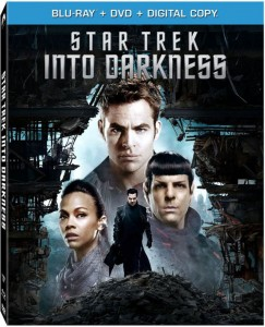 Star Trek Into Darkness Blu-ray Cover