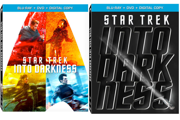 Star Trek Into Darkness Blu-ray Covers