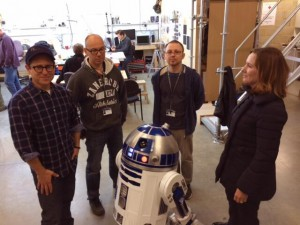 R2-D2 - Star Wars: Episode VII Behind the Scenes