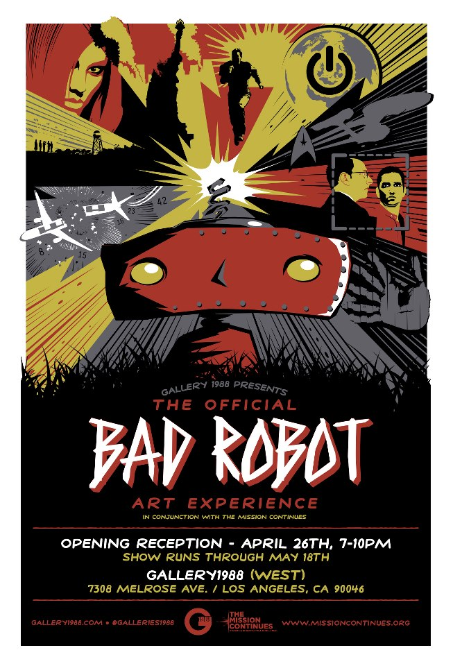The Official Bad Robot Art Experience