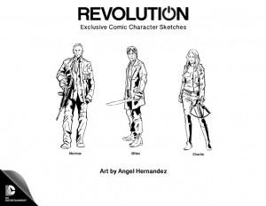 Revolution Comic Artwork