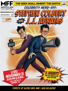Stephen Colbert and J.J. Abrams