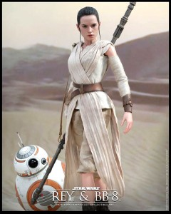 Rey and BB-8 - HotToys